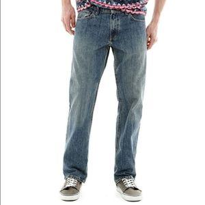 Arizona Jean Co. Original Straight Jeans 36
